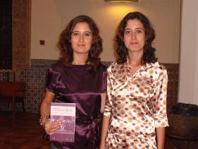 Las profesoras Laura Lara Martínez y María Lara Martínez