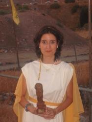 María Lara profesora del Grado en Historia