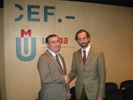 Acuerdo entre el CEP y la UDIMA