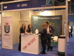 Equipo UDIMA-CEF preparando la información de los Másters