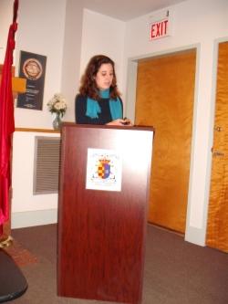 Profesora del Grado de Historia de UDIMA conferenciante en Harvard