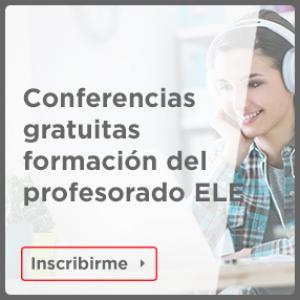 Conferencias gratuitas formación del profesorado ELE