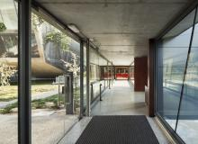 Vistas interiores de la Universidad
