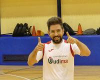 Gonzalo Pazos, jugador de la UDIMA