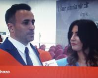 Captura de pantalla de la entrevista de UDIMA Media a Iván y Verónica, egresados de la UDIMA (Redacción: Luis Miguel Belda)