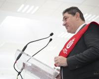Luis Fernando Guijarro, representante de los alumnos de Máster