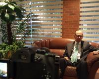 Luis Gonzalo Peña Aponte explica en UDIMA Media su experiencia académica (Redacción: Luis Miguel Belda, enviado especial a Bogotá)