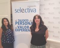 Ruth Bravo y Leticia Sánchez