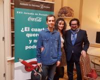 Miguel del Rosal, Rocío González y Luis Miguel Belda