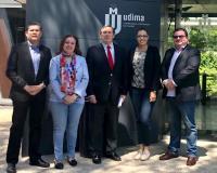 Foto de familia del grupo investigador (Redacción: UDIMA Media)