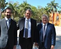 Arturo de las Heras, Francisco Joel Quiñónez Reyna y Fredy Araujo (Redacción: UDIMA Media)