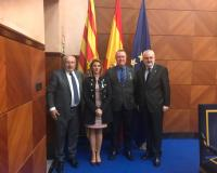 Ángel García Collantes, el primero a la izquierda de la imagen (Redacción: Luis Miguel Belda)