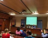 Rueda de prensa de presentación del informe de la APM (Redacción: Marta Peiro/Fotografías: Pablo Vázquez/APM/Marta Peiro)