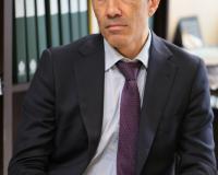 Juan Luis Rubio Sánchez, vicerrector de la UDIMA, durante la firma del acuerdo de colaboración.
