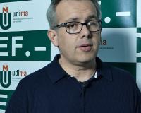 José Luis Méndez, durante la entrevista concedida a UDIMA Media (Redacción e imagen: Luis Miguel Belda)