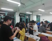 Los alumnos chinos, 'jugando' al 'bingo'