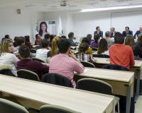 Mesa de ponentes (Fotografía: Ana Rodrigo)