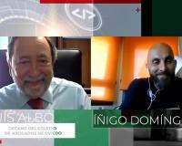 Luis Albo entrevistado por Íñigo Domínguez