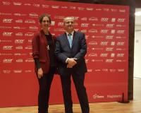 Arancha de las Heras con Juanma Romero