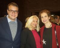 Arancha de las Heras con Carmen Sanz Chacón