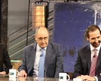 De izquierda a derecha, Arancha, Roque y Arturo de las Heras (Redacción: UDIMA Media. Fotografías: Luis Miguel Belda/Ramón Oliver)