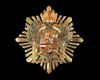 Placa de Comendador de Número de la Orden
