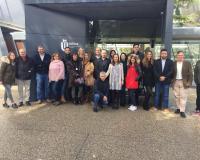 Foto de familia de profesores y estudiantes (Redacción: UDIMA Media)