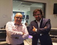 Roberto Castañares y Luis Miguel Belda.