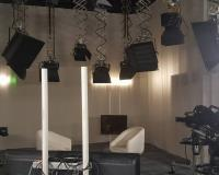 Estudios de televisión.