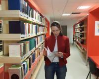 Esther López, la autora del artículo (Redacción: UDIMA Media. Fotografía: Ana Rodrigo)