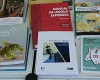 Stand de la UNE, con obra publicada por la Editorial Estudios Financieros