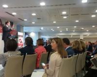 Mariano Rajoy, durante su intervención (Redacción: L.M.B./M.G. Piñeiro. Fotografías: M.G. Piñeiro)