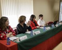 De izquierda a derecha, Carolina Fernández Castrillo, Margarita Garbisu, Concha Burgos y Sara Fuentes (Redacción: Luis M. Belda. Reportaje fotográfico: Ana Rodrigo)