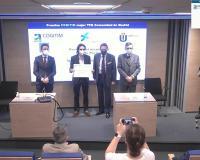 Ignacio Estebaranz recoge el premio