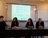 Nazareth Romero, la segunda a la izquierda de la imagen (Redacción: Comunicación)
