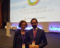 Arancha y Arturo de las Heras, presidenta de la UDIMA y del CEF.-, respectivamente