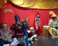 Los Reyes Magos, en el CEF.- y la UDIMA