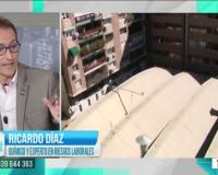 Ricardo Díaz, en el programa 'Las claves del día', de Telemadrid.