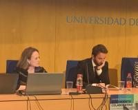 Rut González, a la izquierda de la imagen