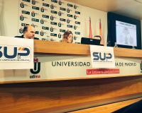 Susana Laguna, durante su intervención