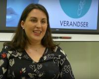 Andrea Hernández, presidenta de VERANDSER (Redacción: UDIMA Media/Imagen: Alejandro Benito)