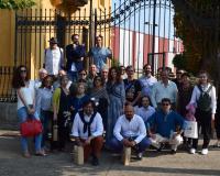 Foto de familia en Astorga (Redacción: UDIMA Media)